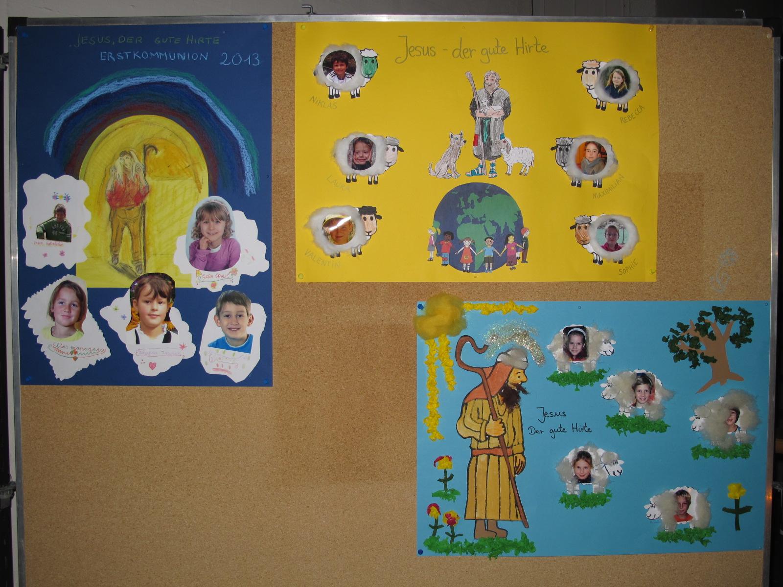vorstellung kommunionkinder gottesdienst