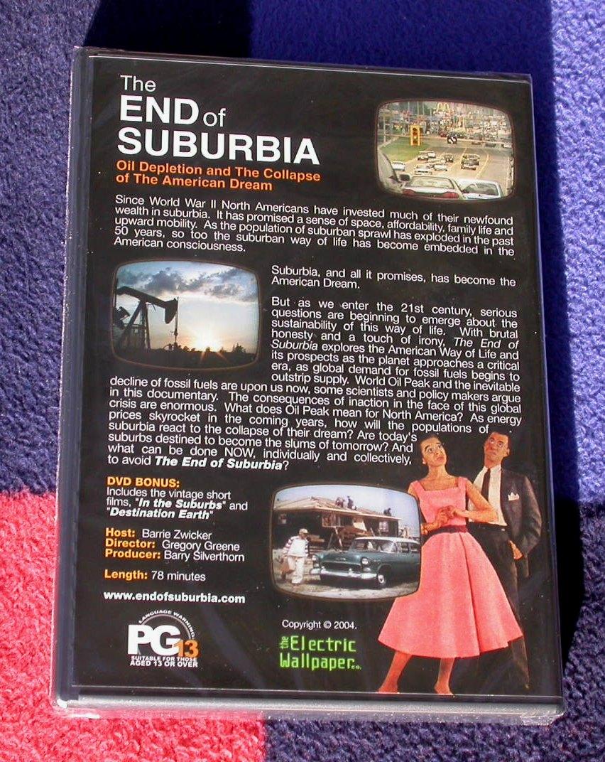 the end of suburbia auf dvd original verpackt kaufen. Black Bedroom Furniture Sets. Home Design Ideas